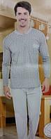 Турецкая мужская пижама на байке 83001