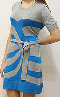 Женская туника-платье Morgan серый