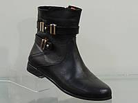 Стильные молодежные кожаные ботиночки
