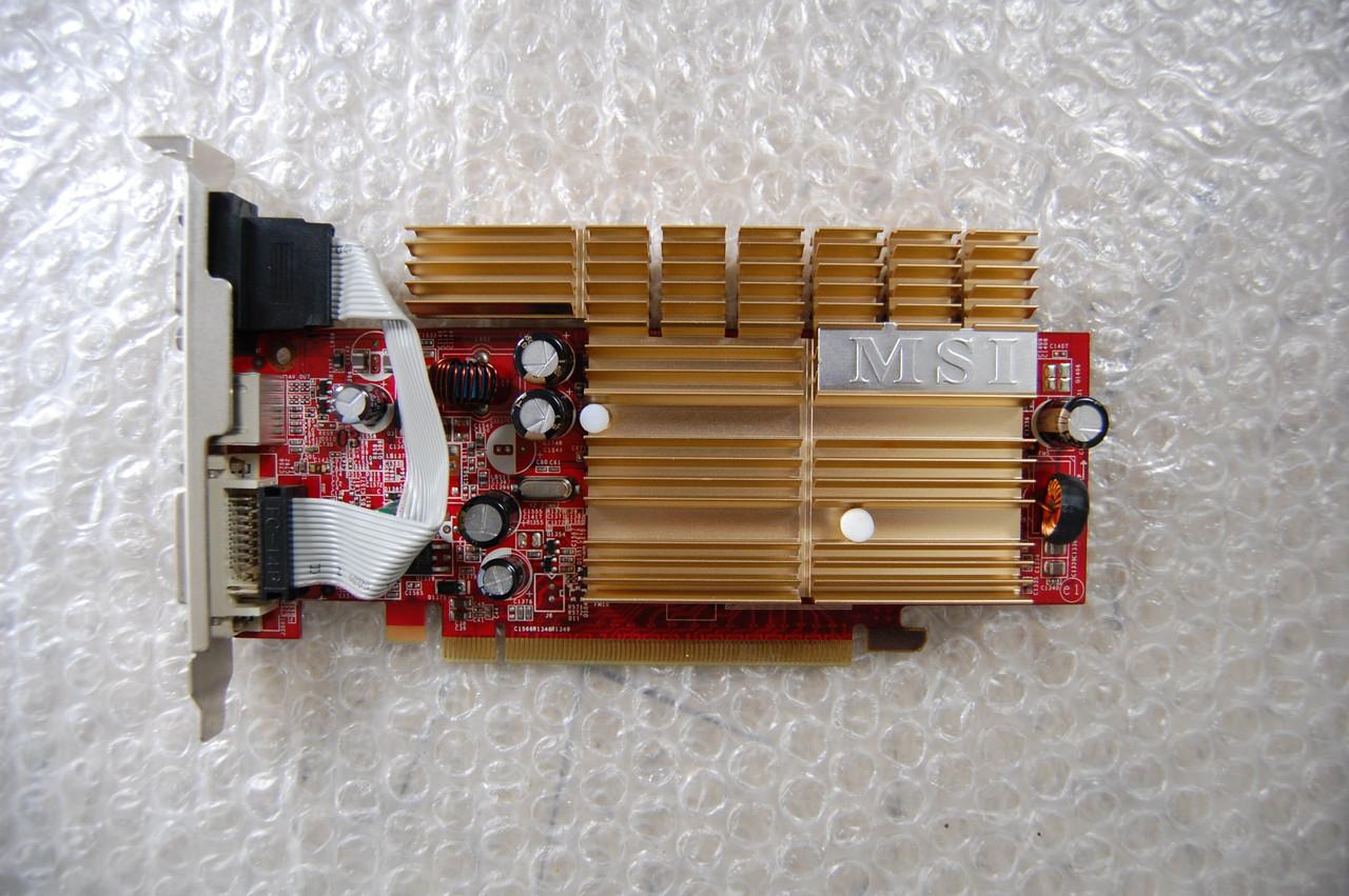 Видеокарта PCI-E MSI Geforce 7300GS