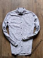 ОГОНЬ! NEXT Рубашка (М) СОСТ ИДЕАЛ!