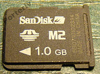 Флешка Sandisk Memory Stick Micro (M2) 1 Gb