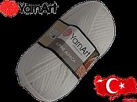 Пряжа Yarnart Alpine alpaca 440 белый
