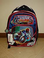 Рюкзак школьный мотоциклист