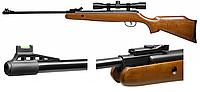Пневматическая винтовка Crosman Optimus 4x32 Center Point. Спортивное оружие. Пневматика с оптикой