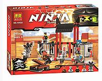 """Конструктор Bela Ninja 10522 """"Побег из тюрьмы Криптариум"""" 241 дет"""