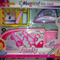 Детский набор для девочек,утюг+гладильная доска 2889