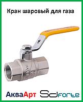 Кран шаровый SD Forte 1'' РГГ газ