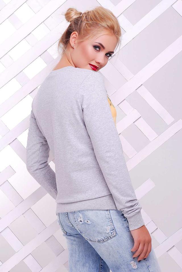 Фото-1 Женского стильного свитшота Клит-3