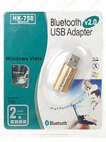 Bluetooth адаптер HK-750 USB 2.0