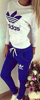 Спортивный костюм женский Adidas Лили электрик , спортивная одежда