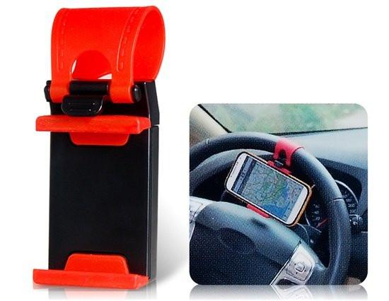 Авто держатель на руль для телефона,смартфона.