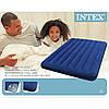 Надувной матрас велюр Intex 137*191*22см 68758