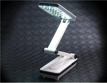 Настольная светодиодная лампа на аккумуляторе.