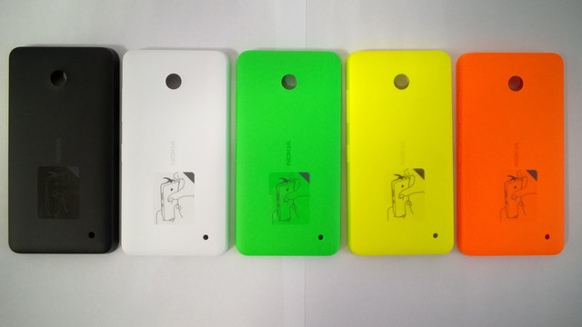 Rear back door housing battery cover case for nokia lumia 640 #h-672