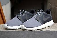 Кроссовки мужские беговые Nike Roshe Run Grey - 899 (найк роше ран, оригинал)