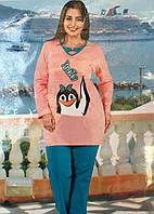 Женская пижама большого размера Hello