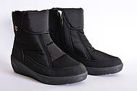Зимние ботинки модель 42 черные