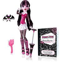 Лялька Monster High -  лялька Дракулаура із улюблинцем  (Кукла Дракулаура из школы монстров Draculaura)