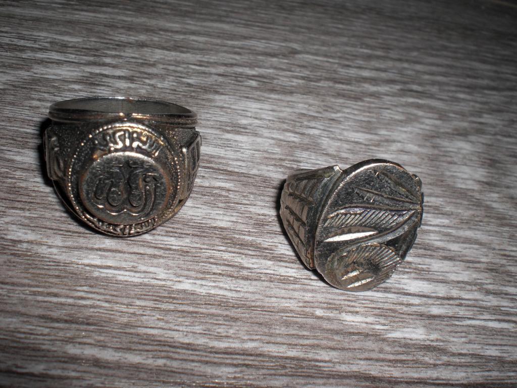 Кольцо печатка для мужчин 2 шт