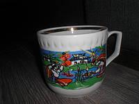 Чашка Киев СССР большая редкая