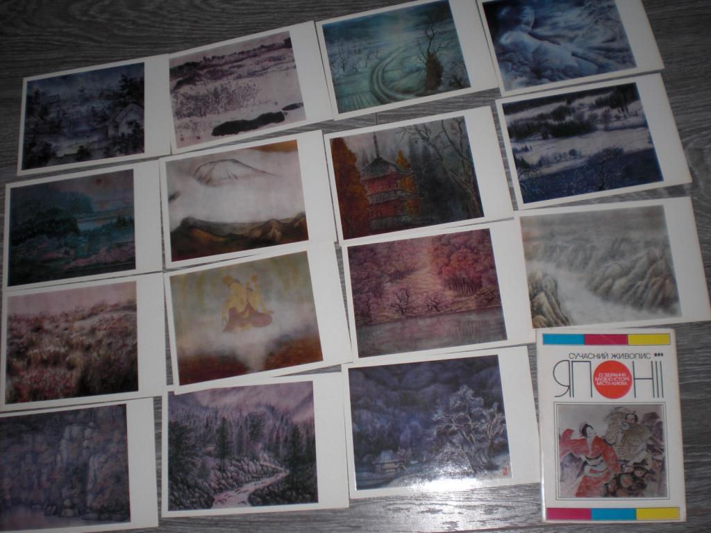 Набор открыток Япония Сучасний живопис Живопись