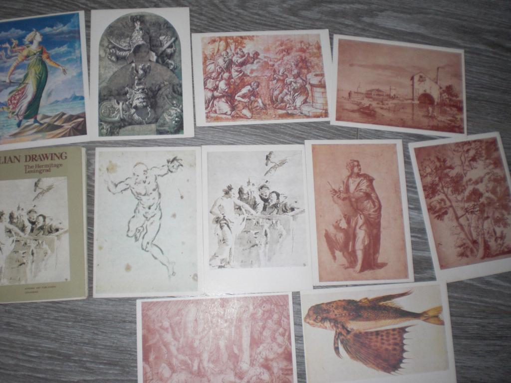 Набор открыток  Италия живопись 10шт