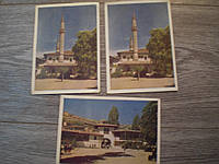 Набор открыток КРЫМ БАХЧИСАРАЙ  1959г 3 ШТ КИНО