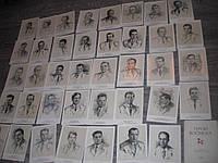 Набор открыток СССР Герои космоса Космонавты  39шт