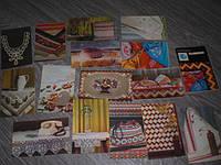 Набор открыток Вышивка 15  шт 1975год