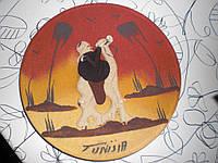 Тарелка настенная Тунис