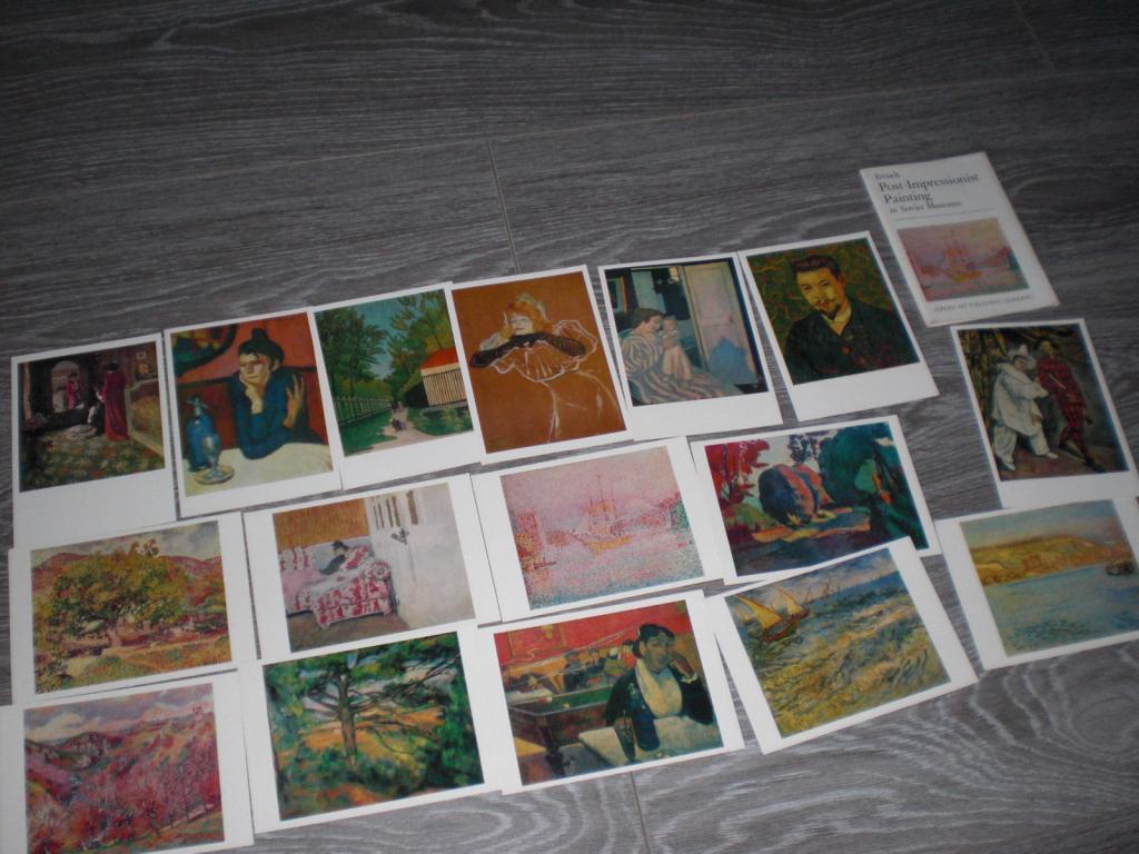 Набор открытки Французская живопись в музеях СССР