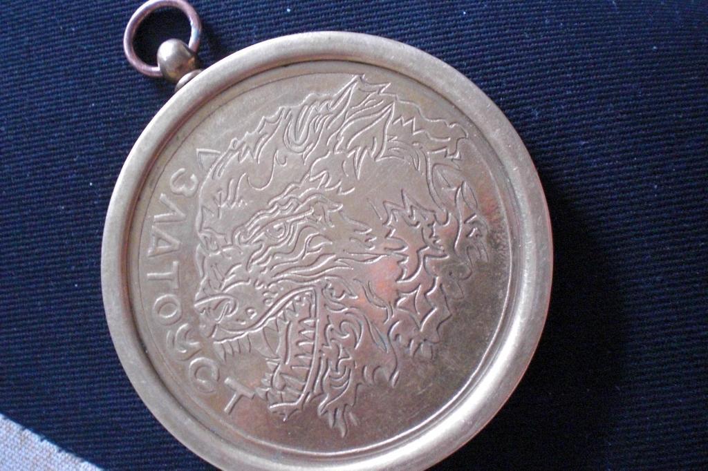 Медаль 50 золотому юбилею Златоус