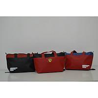 Сумка женская фитнес Adidas, Ferrari, Lacoste, Nike. Высокое качество. Стильная модель. Купить. Код: КДН738