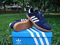 Кроссовки Adidas Samba темно-синие