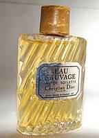 Миниатюра Christian Dior Eau Sauvage. Оригинал!