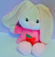 Мягкая игрушка Заяц, кролик с морковкой 167 Чайка Украина