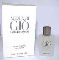 Миниатюра Acqua di Gio Giorgio Armani. Оригинал!