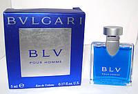 Миниатюра BLV Pour Homme Bvlgari. Оригинал!