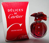 Миниатюра Cartier Delices de Cartier edp Оригинал!