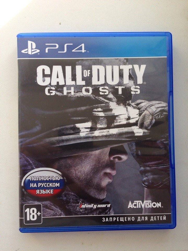 Call of Duty ghosts (PS4) рус