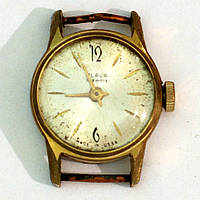 Слава позолоченные часы