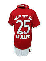 Детская футбольная форма Бавария (Muller) красная
