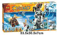 Конструктор Bela 10296 аналог LEGO Chima Ледяная крепость Сэра Фангара 668 дет