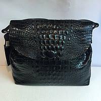 Удобная кожаная женская сумка