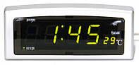 Часы элктронные настольные СХ 818-2 с термометром и календарем