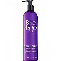 Tigi Bed Head Dumb Blonde Purple Toning Shampoo - Тонирующий шампунь для светлых волос 400мл