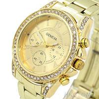 Женские наручные часы GENEVA LUXURY золотые