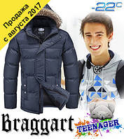 Подростковые молодежные зимние куртки оптом