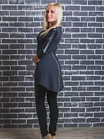 Модный женский костюм - лосины и туника